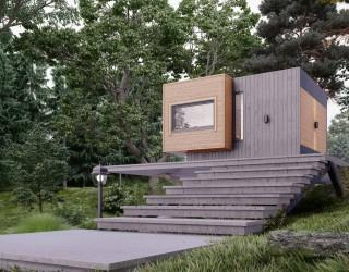 Модульный дом «Турист+»