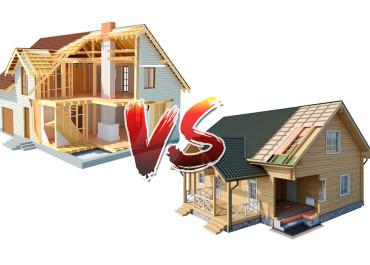 Каркасные дома или из бруса, какие лучше?