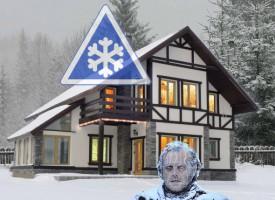 Особенности зимней эксплуатации СИП домов