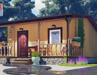 «Домик в деревне» + баня