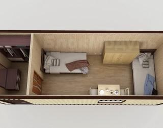 Блок контейнер №3